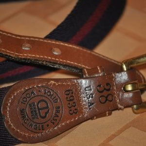 Dooney & Bourke Wool / Surcingle Belt Size 38